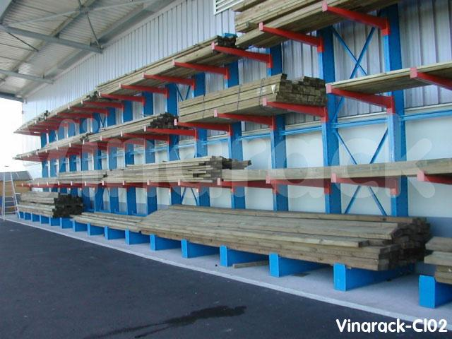 Giá kệ tay đỡ lưu trữ thanh gỗ dài